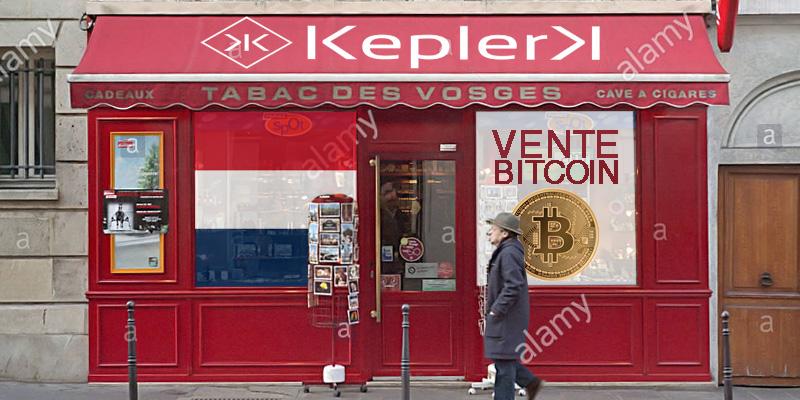 AMF contro KeplerK L'Autorité des marchés financiers si è espressa contro KeplerK che vuole vendere bitcoin in tabaccheria dato il rischio di mancata liquidità per coprire gli scambi in criptovaluta.