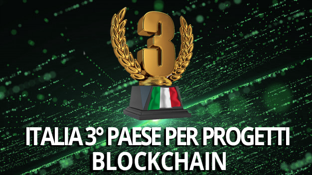 Sono stati proposti 579 progetti di Blockchain nel mondo nel triennio 2016-2018. L'Italia è il terzo paese europeo per numero (19, aggiungendo formazione e consulenza si superano i 150), anche se il mercato è ancora agli albori.