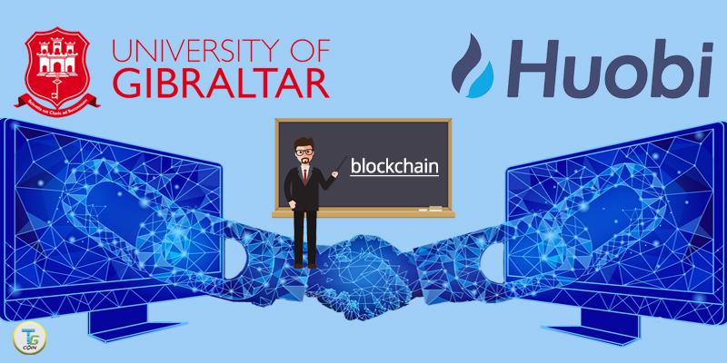 Gibilterra e Houbi per l'istruzione blockchain