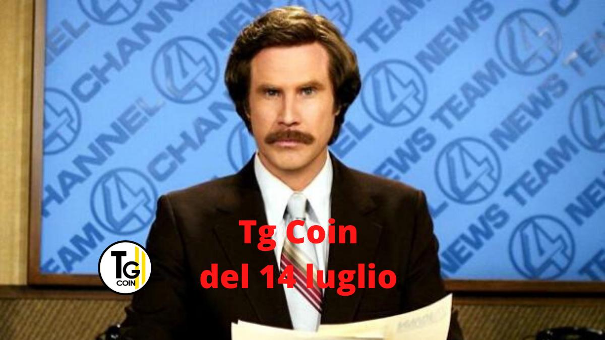 crypto news: tg coin del 14 luglio 2020