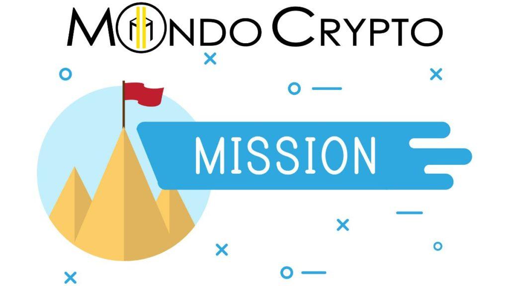 La mission di mondo crypto è creare consapevolezza sui temi della Blockchain, Cryptovalute e Bitcoin divulgando in maniera easy le informazioni verso le istituzioni, investitori, traders, organizzazioni e utenti.