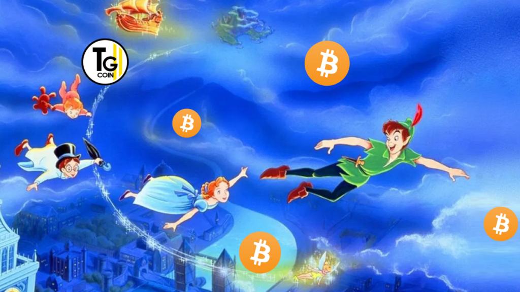 Deutsche Bank ha parlato di Bitcoin e lo ha legato all'effetto Peter Pan. Questo termine è stato tradotto dalla stampa italiano per farlo comprendere meglio. Ma in realtà si parla di effetto Campanellino che non è altro l'effetto Tinkerbell.