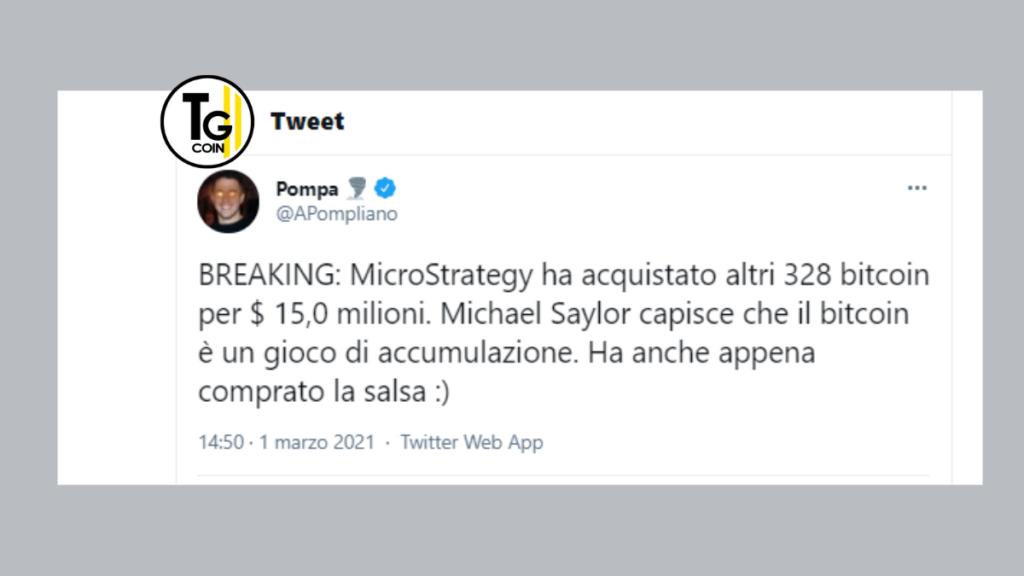 A rivelare le possibili intenzioni di Twitter è stato Anthony Pompiliano con un tweet.