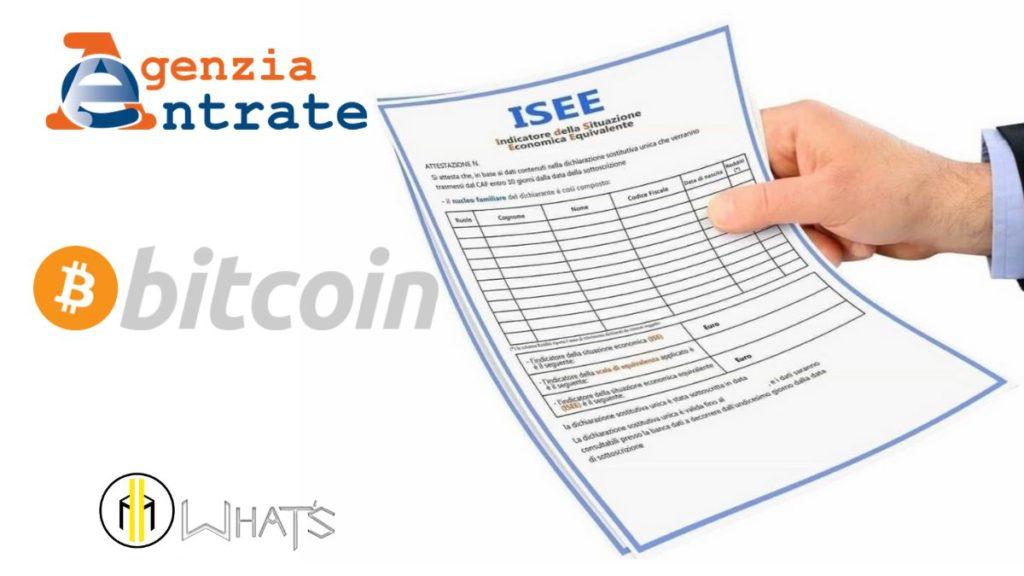 Nella dichiarazione ISEE, bitcoin va dichiarato