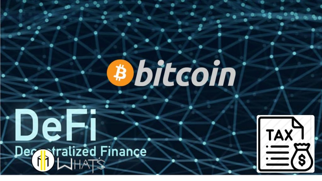 Anche defi bitcoin è tassato