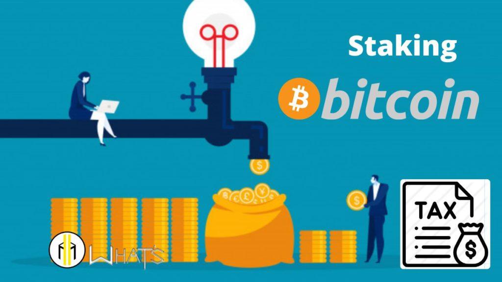 Anche le rendite passivo bitcoin sono tassate