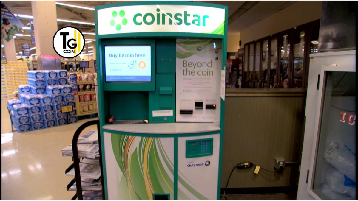 Coinstar è una società di macchinette cambia spiccioli. L'azienda statunitense è nata nel 1991 ed oggi conta oltre 20 mila chioschi in tutto il mondo.