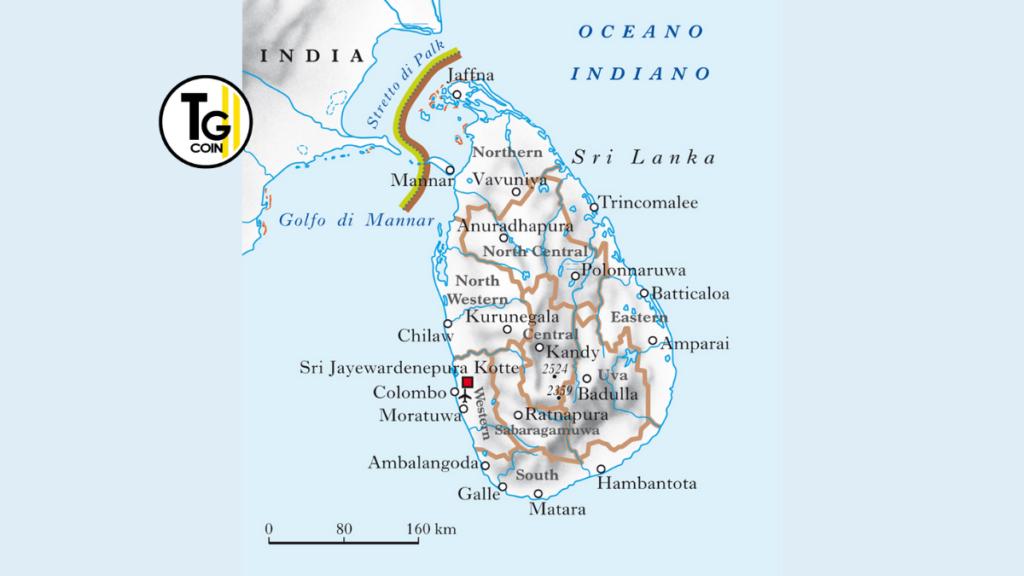 Lo Sri Lanka è uno Stato insulare che si trova in Asia meridionale. E occupa l'omonima isola al largo della costa sud-orientale del subcontinente indiano. Per la sua forma particolare e la sua vicinanza alla costa indiana è soprannominata lacrima dell'India.
