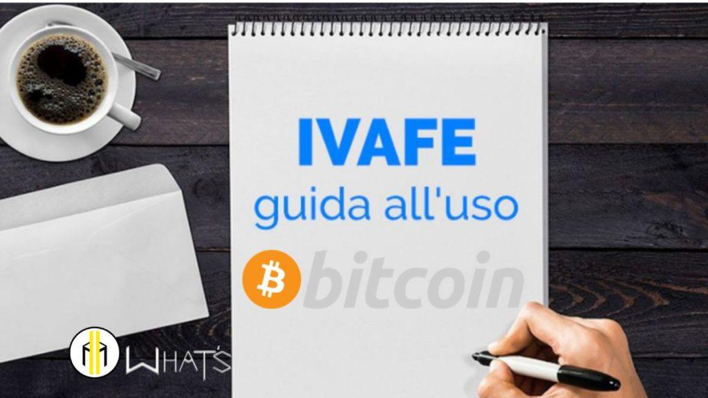 IVAFE non si paga per bitcoin e tutte le crypto. Ti do una bella notizia NO. In quanto non c'è una legge che classifica bitcoin. Al contrario sui conti correnti bancari e/o libretti di risparmio sì.
