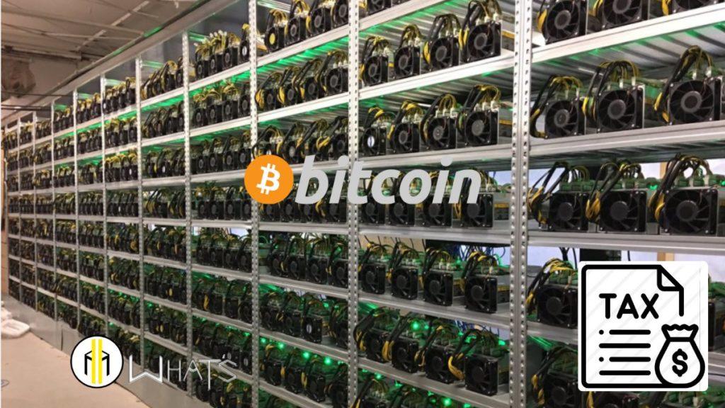 Anche Mining bitcoin è tassato