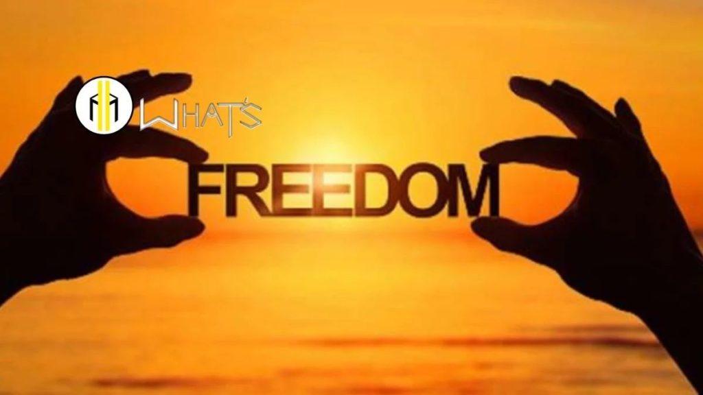 Le persona non sanno che cosa significa essere liberi