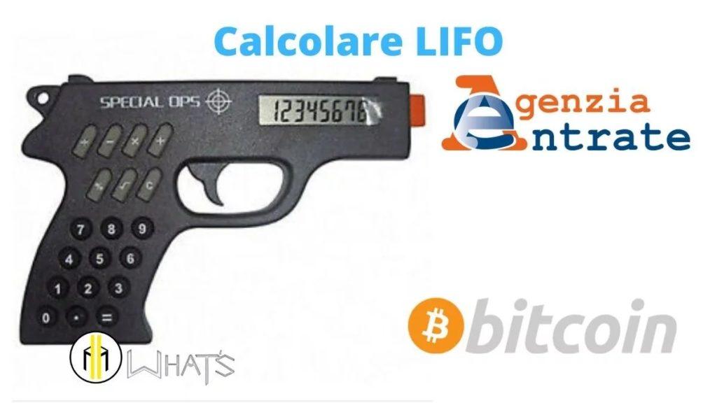 Metodo lifo è un obbligo usarlo quando hai crypto e non solo
