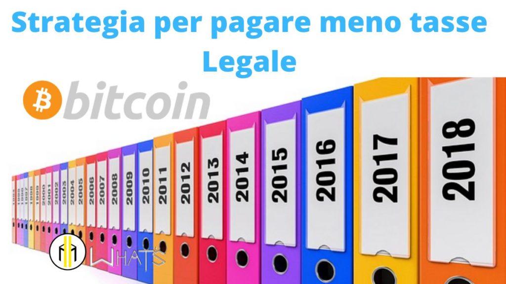 bisogna tenere da parte tutti i documenti contabili e di movimentazione exchange