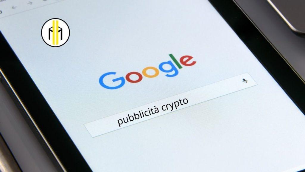 Google revoca il divieto della pubblicità crittografia. Ad annunciare questa straordinaria notizia è stata data dal gigante del web.
