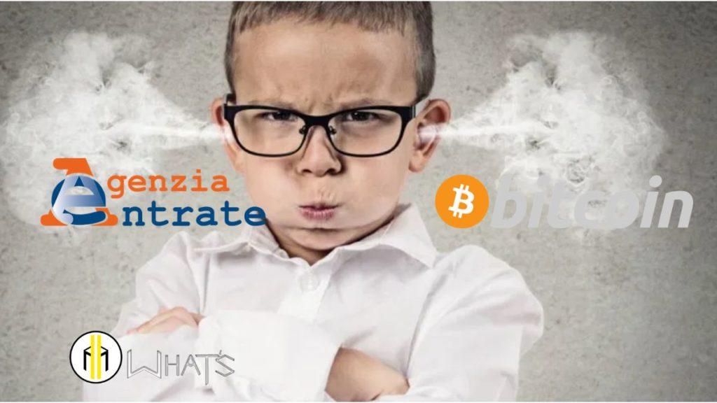 Fac simile Quando non devi pagare Tasse Bitcoin 2021