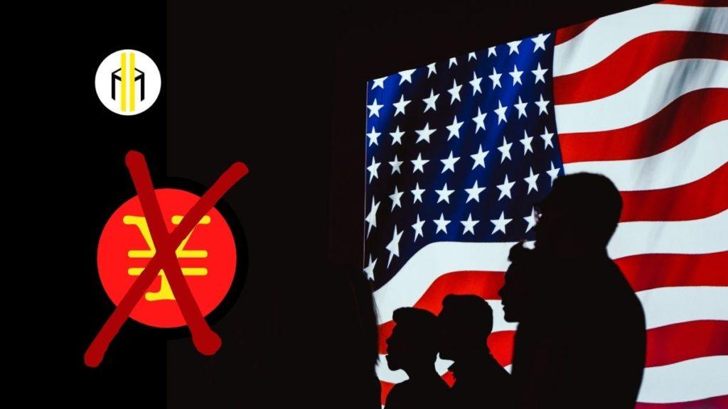 Lo yuan digitale della Cina sarà vietato negli Stati Uniti. La valuta digitale infatti non potrà essere usata dagli statunitensi.