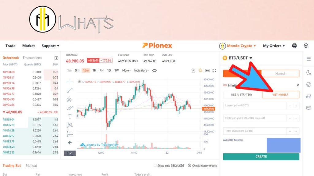 Tutto su come funziona il bot trading infinity