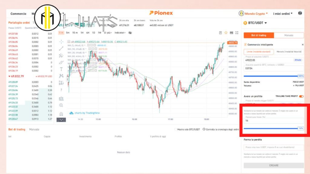 Tutorial bot crypto smart trade