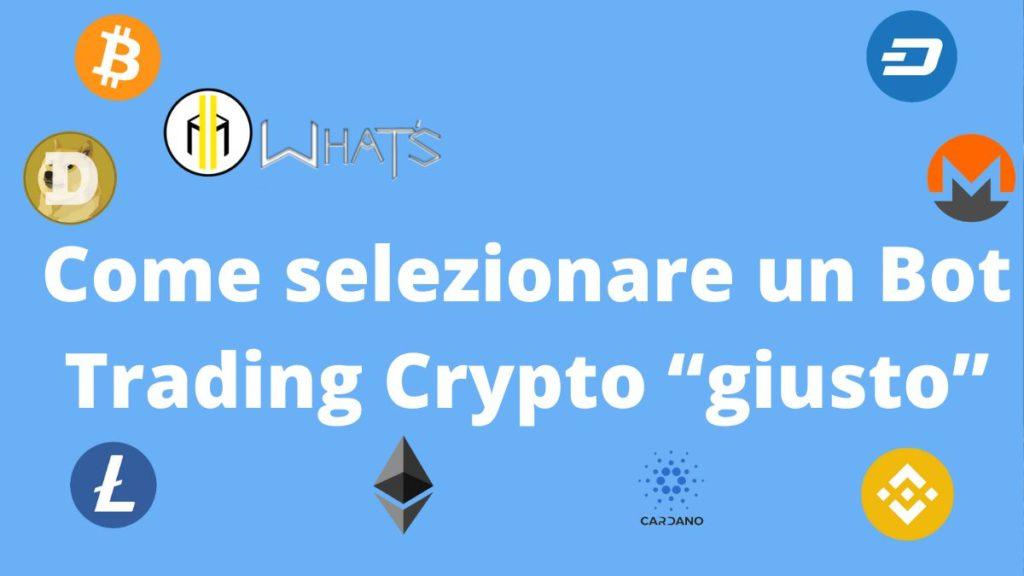 miglior bot di trading crypto per i principianti)