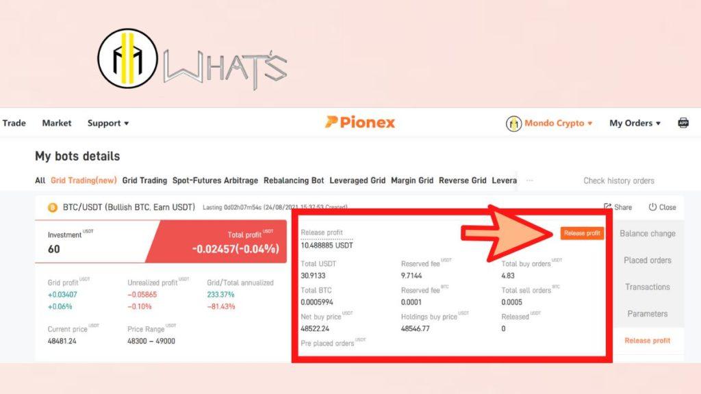 Tutorial exchange crypto pionex bot trading