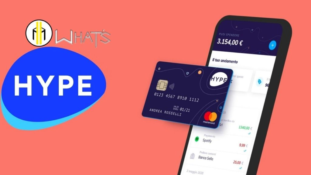 carta hype per comprare bitcoin