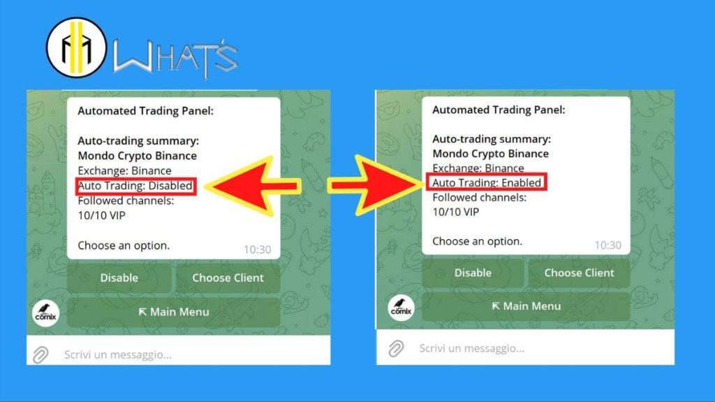automatizzare trading cryptovalute